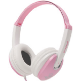 Groov-e Kids DJ Style Headphone - Pink/White GV590PW